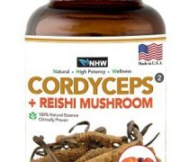 CORDYCEPS+REISHI MUSROOM,Biotanic extract,natural ingredients, Improve the immune system,Reduce fatique and stress biomakers. + Increase cellular oxygen absorption. + Support healthy kidney function,