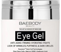 Baebody Eye Gel for Dark Circles, Puffiness, Wrinkles and Bags – The Most Effective Anti-Aging Eye Gel for Under and Around Eyes. – 1.7 fl. oz.