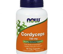 NOW Cordyceps 750 mg,90 Veg Capsules