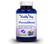 Max Strength Pterostilbene – 150 mg 180 capsules 150 mg 180 capsules Supports Brain, longevity & Healthy Aging