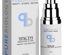 "Pure Biology ""Total Eye"" Anti Aging Eye Cream Infused with Instant Lift Technology & Baobab Fruit Extract – Instant Firming & Long Term Reduction in Wrinkles, Bags & Dark Circles (1 oz.)"