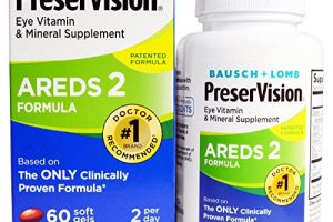 PreserVision Eye Vitamin &Mineral Supplement, Areds 2 Formula, 60 Count