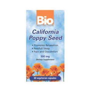 Bio Nutrition Inc California Poppy Seed - 60 VEG CAPS