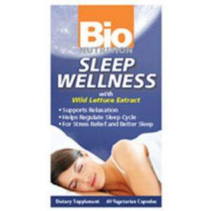 Bio Nutrition Inc Sleep Wellness - 60 VEG CAPS