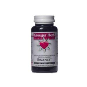Kroeger Herb Enzymes - 100 VCaps