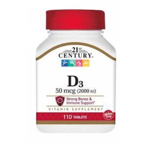 21st Century 21st Century Vitamin D3 Tablets Super Strength - 110 tabs