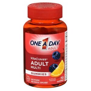 Bayer One-A-Day VitaCraves Adult Multivitamin Gummies - 70 Each
