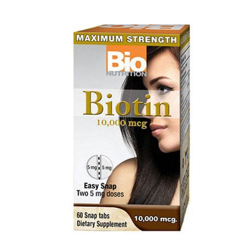 Bio Nutrition Inc Biotin - 60 Tabs