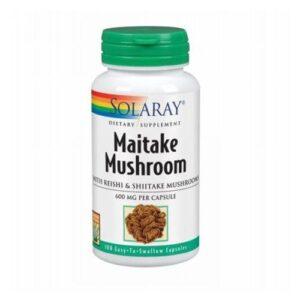 Solaray Maitake Mushroom - 100 Caps