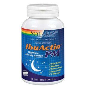 Solaray IbuActin PM - 90 Caps