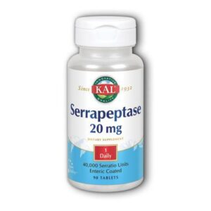 Kal Serrapeptase - 90 Tabs