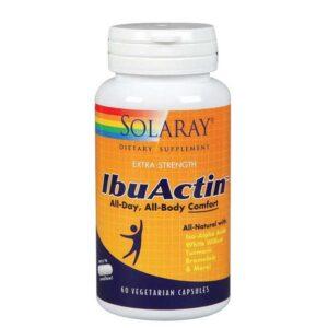 Solaray IbuActin - 60 Caps