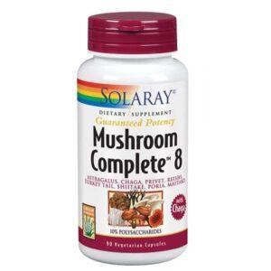 Solaray Mushroom Complete 8 - 90 Caps