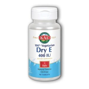 Dry E 90 Softgels by Kal