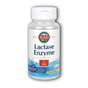 Kal Lactase Enzyme - 60 Softgels