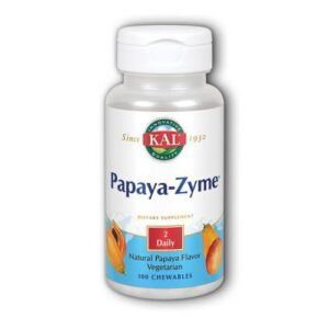 Kal Papaya-Zyme - Papaya 100 Chews