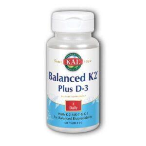 Kal Balanced K2 Plus D-3 - 60 Tabs