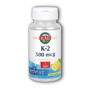 Kal K-2 ActivMelt - Lemon 100 Tabs