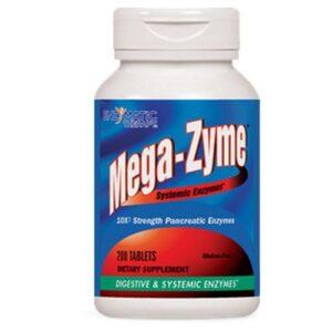 Enzymatic Therapy Mega-Zyme - 200 Tabs