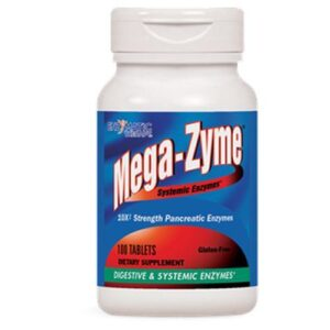 Enzymatic Therapy Mega-Zyme - 100 Tabs