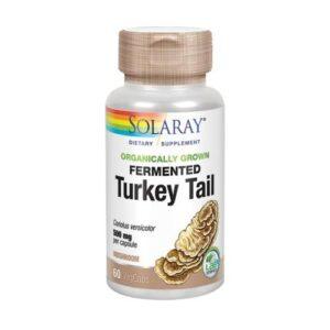 Solaray Fermented Turkey Tail - 60 Veg Caps
