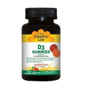 D3 Gummies 60 Count by Country Life