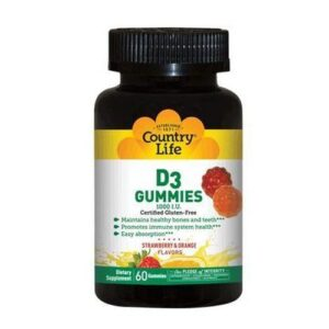 D3 Gummies 120 Count by Country Life