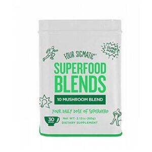 10 Mushroom Blend 2.12 Oz by Four Sigma Foods Inc