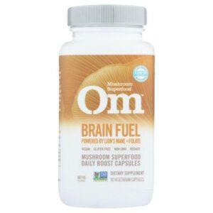 Brain Fuel Superfood 90 Caps by Organic Mushroom Nutrition