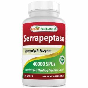 Serrapeptase 180 Caps by Best Naturals