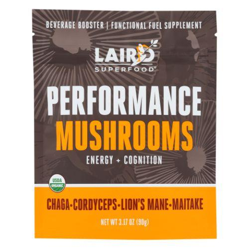Performance Mushrooms 3.17 Oz by Laird Superfoods