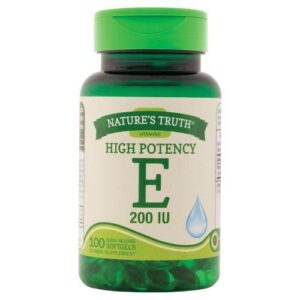 Natures Truth High Potency E Quick Release Softgels 100 Caps by Natures Truth