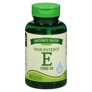 NatureS Truth High Potency E Softgels 60 Caps by Natures Truth