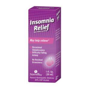 NatraBio Insomnia Relief - 1 FL Oz