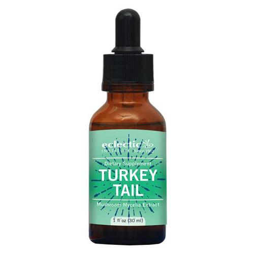 Eclectic Institute Inc Turkey Tail - 1 Oz with Alcohol