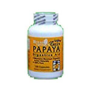 Royal Tropics Green Papaya Digestive Enzymes - 150 Caps
