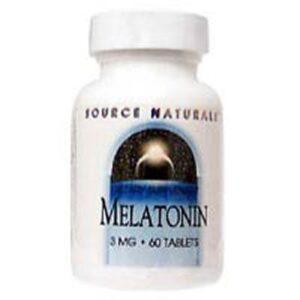 Source Naturals Melatonin - 120 Tabs