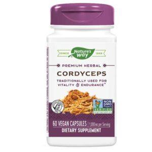 Nature's Way Cordyceps Standardized Extract - 60 Vegicaps
