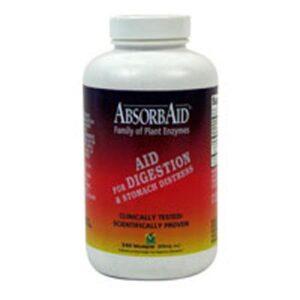 NATURE'S SOURCES (AbsorbAid & Kolorex) AbsorbAid - 240 Caps