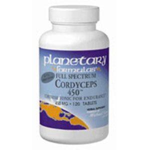 Planetary Herbals Full Spectrum Cordyceps 450 - 60 Tabs