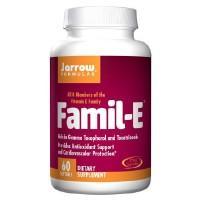 Jarrow Formulas Famil E - 60 Softgels
