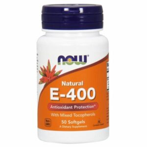 Now Foods E-400 MT - 50 Sgels