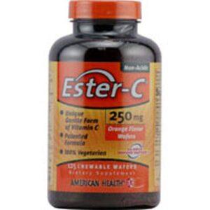 American Health Ester-c - 125 Vegetarian Chewable Wafers