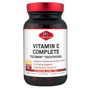 Olympian Labs Tocomin Tocotrienol Vitamin E Complete - 60 sg