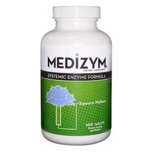 Naturally Vitamins Medizym Systemic Enzyme Formula - 100 Tabs