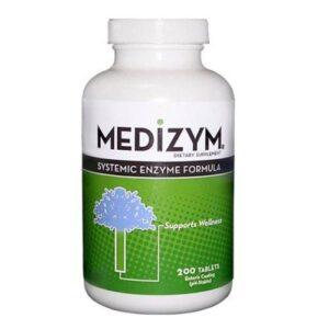 Naturally Vitamins Medizym Systemic Enzyme Formula - 200 Tabs