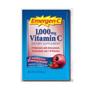 Alacer Emergen-C Vitamin C Drink Mix Packets - Cranberry Pomegranate 30 pkts