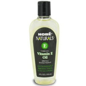 Vitamin E Oil 4 oz by Hobe Labs