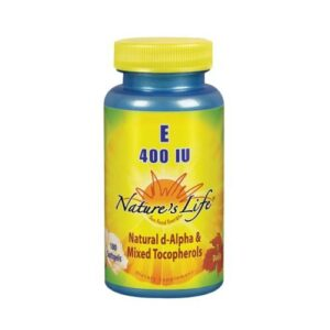 Nature's Life Vitamin E d-Alpha & Mixed Tocopherols - 100 softgels