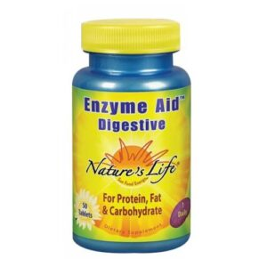 Nature's Life Enzyme Aid Digestive - 50 tabs